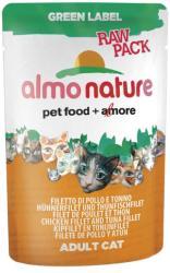 Almo Nature Green Label Chicken & Tuna 55g