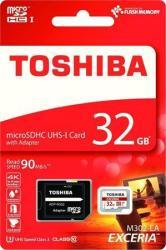 Toshiba MicroSDHC Exceria 32GB Class 10 THN-M302R0320EA