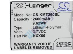 Utángyártott KAZAM Li-Polymer 2600 mAh KXX60-FHABC009886
