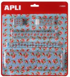 APLI Tolltartó szett - Virágos (LCA14024)