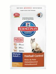 Hill's SP Feline Mature Adult 7+ Hairball Control Chicken 1,5kg