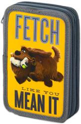 Lizzy Card A kis kedvencek titkos élete - Duke és Max 2 emeletes tolltartó - szürke-sárga (16434304)