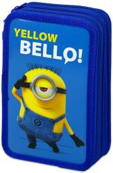 Lizzy Card Minyonok- Yellow Bello 3 emeletes tolltartó - kék (16434701)