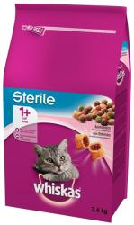 Whiskas Sterile Salmon Dry Food 3,6kg
