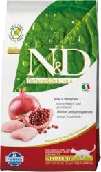 Farmina N&D Adult Neutered Chicken & Pomegranate Grain-free 5kg
