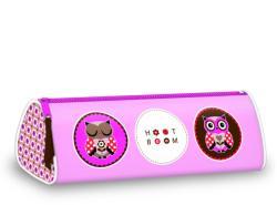 Ars Una Hoot Boom keskeny henger alakú tolltartó - rózsaszín (92997011)