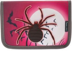Belmil Pók mintás tolltartó, 1 cipzáros, klapnis, üres - Spider (BLM-335-74-SR)