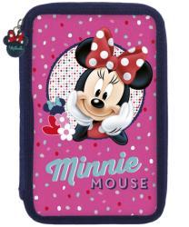DERFORM Minnie tolltartó, 2 emeletes, töltött, rózsaszín (DFM-PWDMM16)