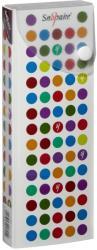 Snopake Polka Dot patentos, műanyag tolltartó