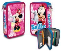 Disney - Minnie 2 emeletes, töltött tolltartó