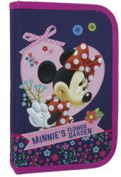 DERFORM Minnie tolltartó, 1 cipzáros, klapnis, üres, sötétkék (DFM-PJMM17)