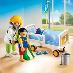 Playmobil Doctor Si Copil (PM6661)