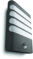Massive - Philips Raccoon kültéri fali lámpa, mozgásérzékelővel, antracit 17274/93/16