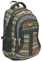 Eurocom Street Active Aztec - iskola hátizsák, 47x32x20cm (52611)