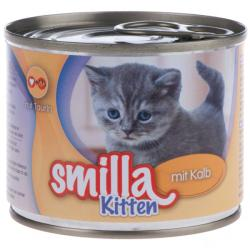 Smilla Kitten Veal 6x200g