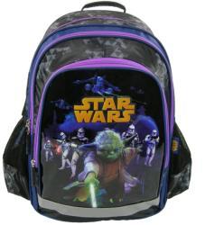 DERFORM Star Wars: Yoda - iskola hátizsák, 38x29x16cm (PL15SW12)