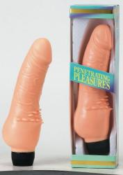 Seven Creations Penetrating Pleasures - élethű vibrátor 18.5cm