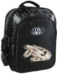 DERFORM Star Wars Millenium Falcon 3D - iskola hátizsák, 39x31x16cm (PL15SW15)
