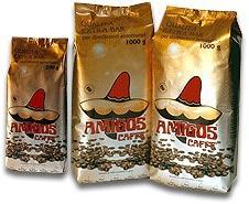 Amigos Caffé Extra Bar Distributori, szemes, 1kg