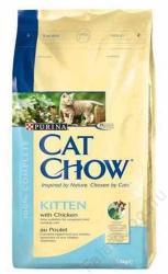 Cat Chow Kitten Chicken 6x1,5kg