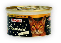 Amora Diamond Katze Chicken & Turkey 85g