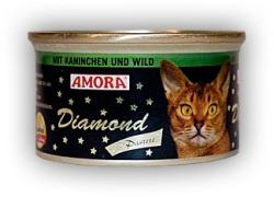 Amora Diamond Katze Rabbit & Venison 85g