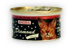Amora Diamond Katze Heart & Chicken Liver 85g