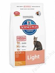 Hill's SP Feline Adult Light Chicken 4x10kg