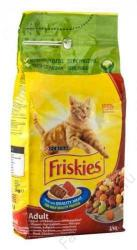 Friskies Adult Meat, Chicken & Vegetables 10x300g