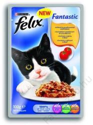 FELIX Fantastic Chicken & Tomato 20x100g