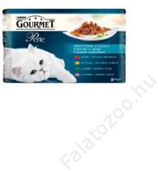 Gourmet Perle Multipack Beef, Chicken, Rabbit & Salmon 4x85g