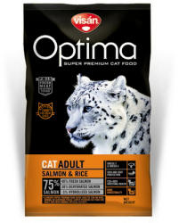 Optimanova Cat Adult Salmon & Rice 8kg
