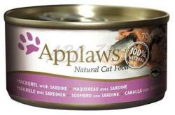 Applaws Mackerel & Sardine Tin 6x70g