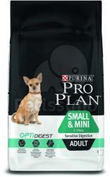 PRO PLAN OptiDigest Small & Mini Adult Sensitive Digestion 3x7kg