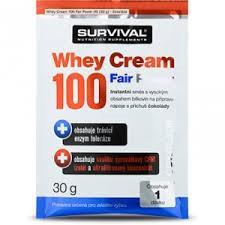 SURVIVAL Whey Cream 100 Fair Power - 30g