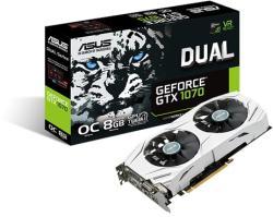 ASUS GeForce GTX 1070 OC 8GB GDDR5 256bit PCIe (DUAL-GTX1070-O8G)