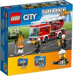 LEGO City - Tűzoltóság Super Pack 3in1 (66541)