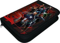 Lizzy Card Avengers - Bosszúállók 1 cipzáros, textil tolltartó, Red (15355901)