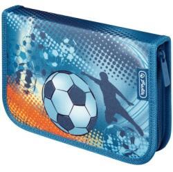 Herlitz Soccer 31 részes, töltött tolltartó