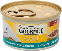 Gourmet Gold Salmon & Chicken 85g