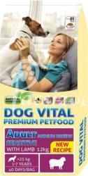 DOG VITAL Adult Sensitive Medium Breeds - Lamb 12kg