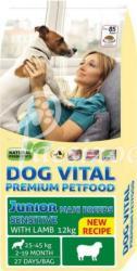 DOG VITAL Junior Sensitive Maxi Breeds - Lamb 12kg
