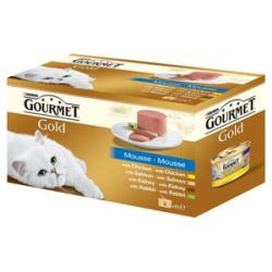 Gourmet Gold Mousse Multipack 4x85g