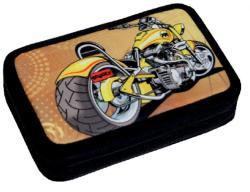 Scooly Motorbike 2 emeletes, töltött tolltartó (223454)