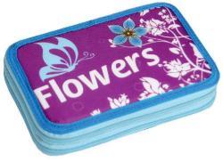 Scooly Flowers 2 emeletes, töltött tolltartó (223450)