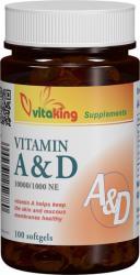 Vitaking Vitamina A&D - 60 comprimate