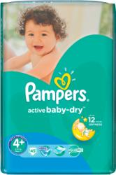Pampers Active Baby-Dry 4+ Maxi Plus (9-16kg) 45db
