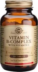 Solgar Vitamin B-Complex & Vitamina C - 100 comprimate