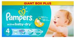 Pampers Active Baby-Dry 4 Maxi (7-14kg) 106db