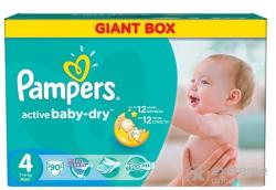 Pampers Active Baby-Dry 4 Maxi (7-14kg) 90db